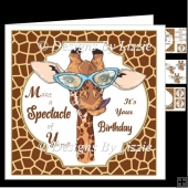 Make A Spectacle Birthday Card Mini Kit