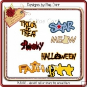 027 Halloween and Misc Titles *Multiple MACHINE Formats*