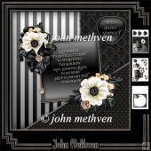 In Memory 8x8 Decoupage Mini Kit