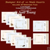 Bumper Kit 10 Inserts - Men