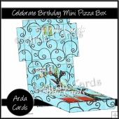 Celebrate Birthday Mini Pizza Box