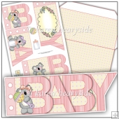 Baby Girl 2 Word Book
