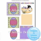Easter Card Topper 5