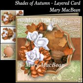 Shades of Autumn - Layered Card