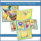 Shaken Not Stirred Twist & Pop Card