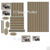 Swiss Car Topper Square Card