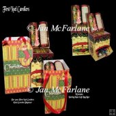 FIRST NOEL CAROLLERS SWEETIE DISPENSER & GIFT BAG