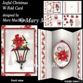 Joyful Christmas - W-Fold Card