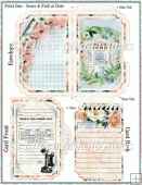 Collect Moments Pen Pal Side Opening Pocket Greeting Card Set