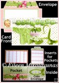 Sweet Pea Interactive Flip Card Set with Directions