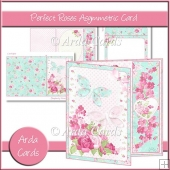 Perfect Roses Asymmetric Card