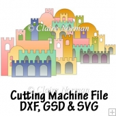 Build a Town Cutting Machine File GSD SVG DXF