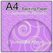 ref1_bp642 - Lilac Purple Swirls