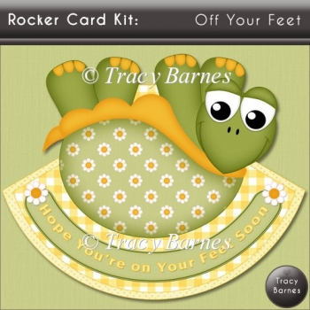 Rocker Card Kit: Off Your Feet