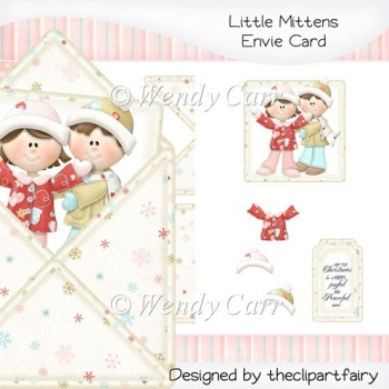 Little Mittens Envie Card(Retiring in August)