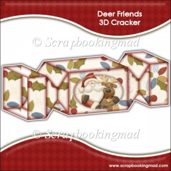 Deer Friends 3D Cracker Gift Box