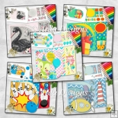 Everyday D Flap Card Bundle 1