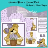 Garden Bear 2 Bonus Pack Decoupage