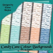 Candy Cane Colour Backgrounds