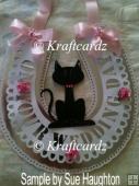 Bride Wedding Day Horseshoe - Lucky Cat (multi formats)