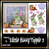 Easter Bunny Topper 3