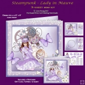 Steampunk - Lady in Mauve