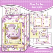 Time For Tea Box Card