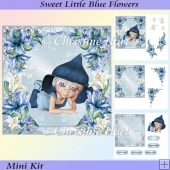 Sweet Little Blue Flowers Mini Kit