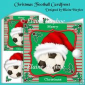 Christmas Football Cardfront