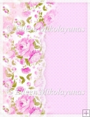 Rose Melange Backing Background Paper