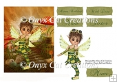 Steampunk Fairy Card Topper Sheet