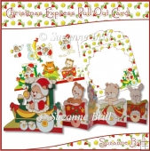 Christmas Express Pull Out Card