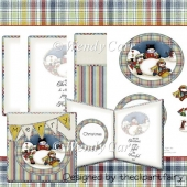 RTP Large & Small Christmas Friends Cards