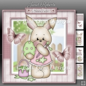 Bunny Painting Easter Egg Mini Kit