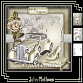 Bride & Groom Decoupage Mini Kit