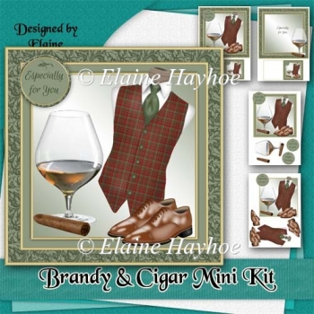 Brandy and Cigar Mini Kit