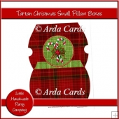 Tartan Christmas Small Pillow Boxes