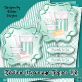 Teatime Pyramage Toppers Kit