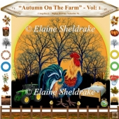 Autumn On The Farm - Vol: 1 - CU/PU Designers Resource