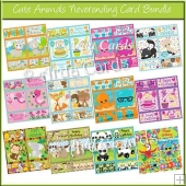 Cute Animals Neverending Card Bundle