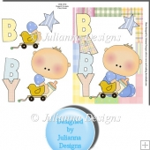 Baby Boy 2 Card Front