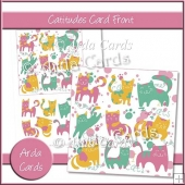 Catitudes Card Front