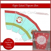 Flight School Popcorn Box