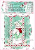 Snow Much Love Christmas Bookmark and Envelope Set
