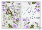 Always in My Heart Card Insert