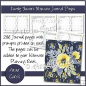 Lovely Flowers Ultimate Journal Pages