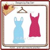 021 Dresses & Hanger *Multiple MACHINEFormats*