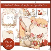 Woodland Wishes Wrap Around Gatefold Card