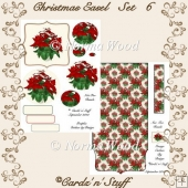 Christmas Easel Set 6