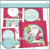 Joyful Christmas Shadow Box Card